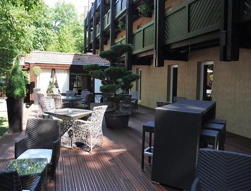 Diane Hotel - Terrasse