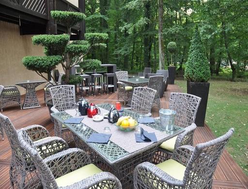 Diane hotel - Terrace