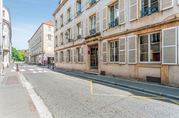 Metz theatre hotel - exterior
