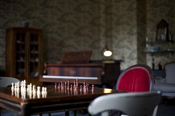 Gli stagni di Saint-Aubin: scacchi