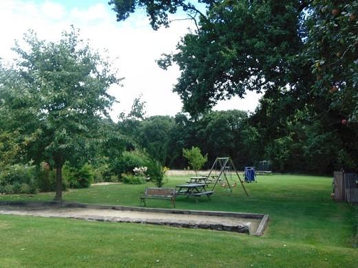 Las hervelinas - jardin