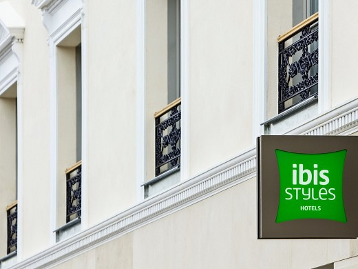 Ibis styles chalons en champagne centre - enseigne