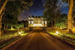 Manor of Sauvegrain - Am Abend