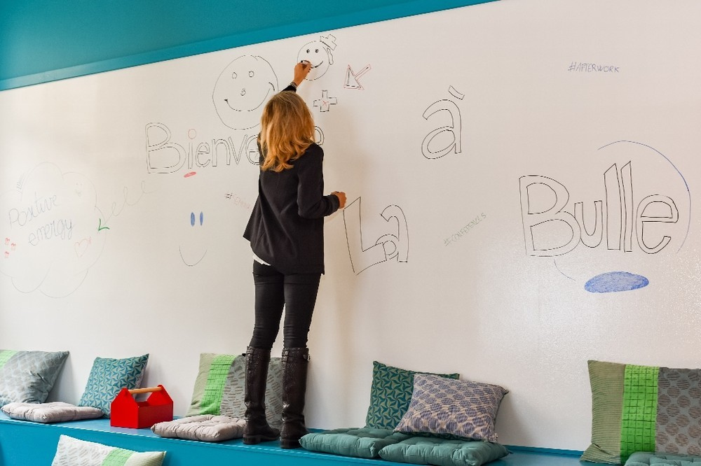 La bulle workplace  - mur d'expression