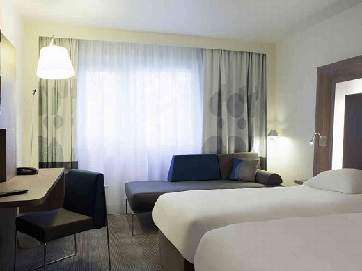 Novotel paris nord expo aulnay - chambre double