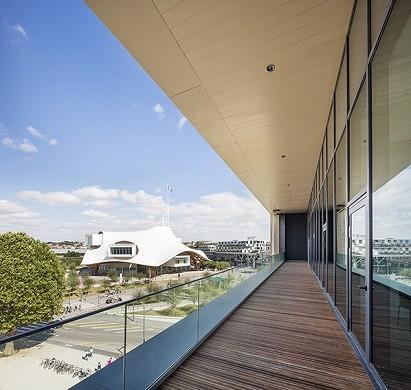 Metz congress robert schuman - panoramic terrace