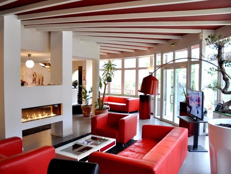 Hotel orion - sala de estar