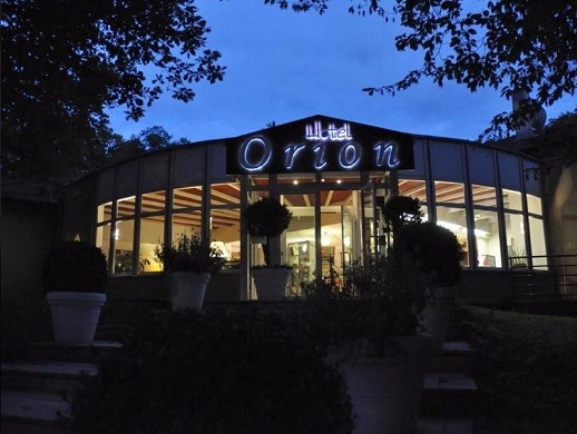Hotel orion - in the evening