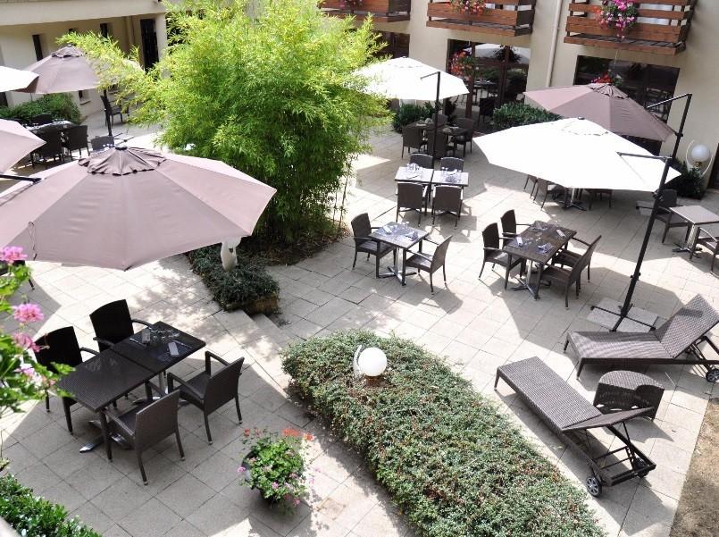 Hotel Saint Eloy - Terraza