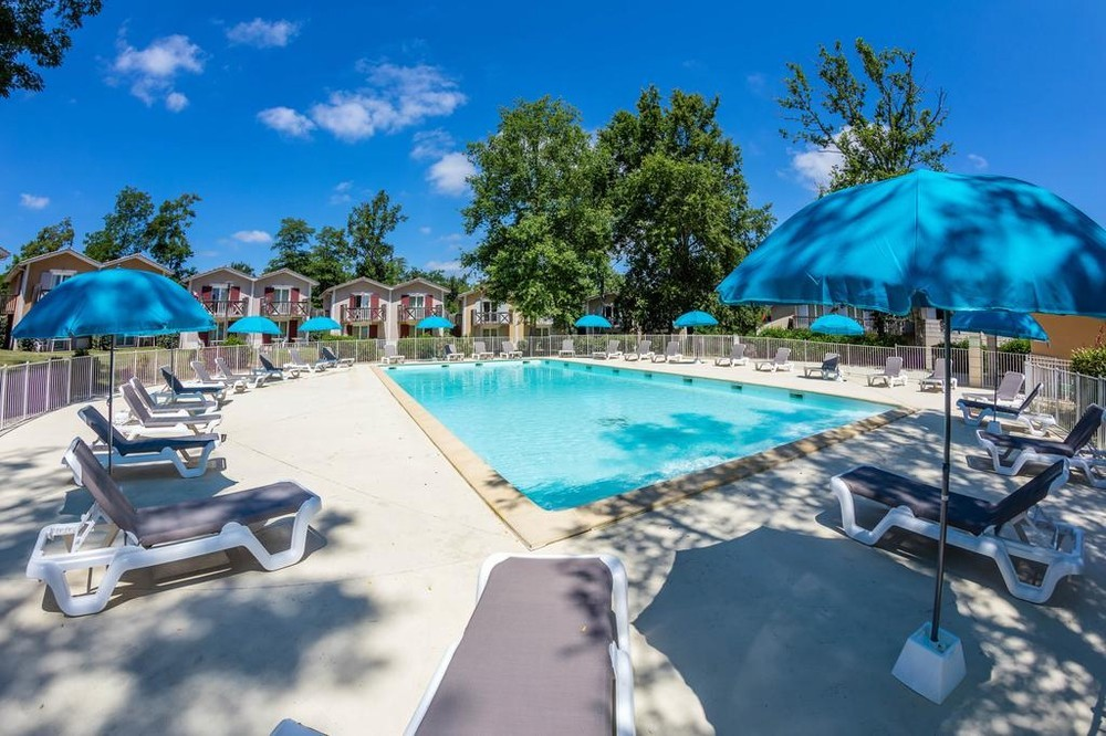 Vacanceole - zona de golf de Albret - piscina