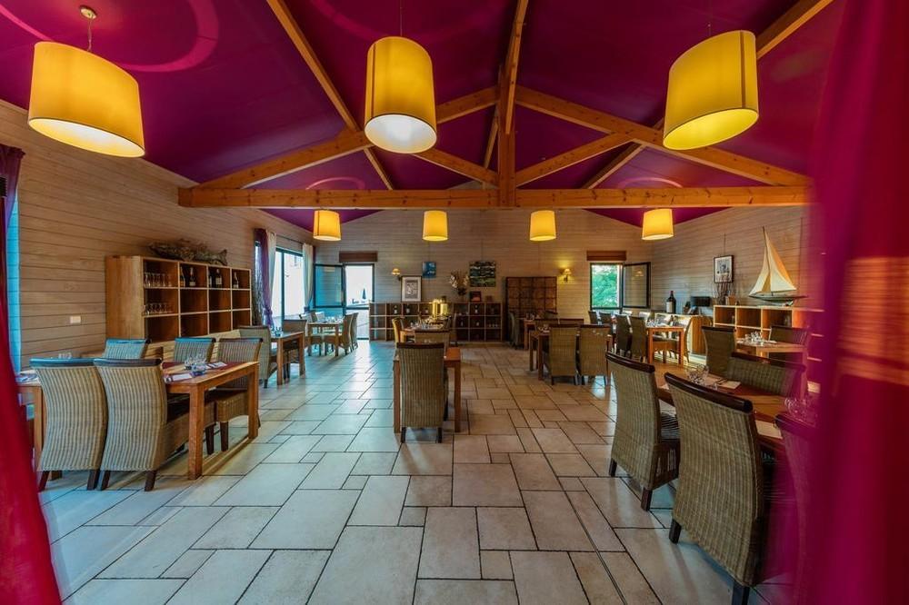 Vacanceole - domaine du golf d'albret - restaurante
