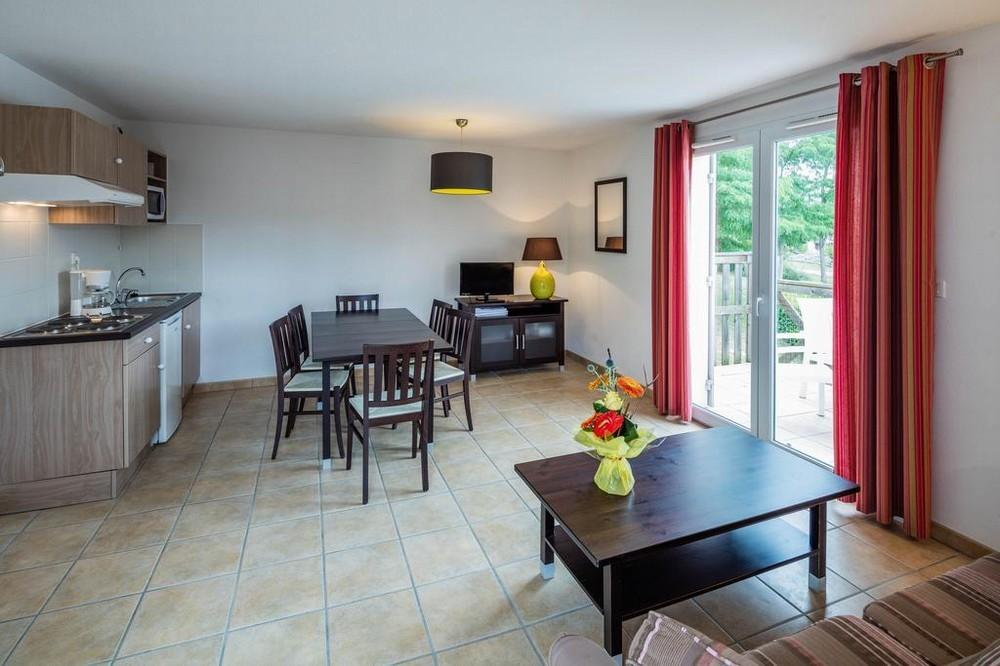 Vacanceole - área de golf de Albret - sala de estar