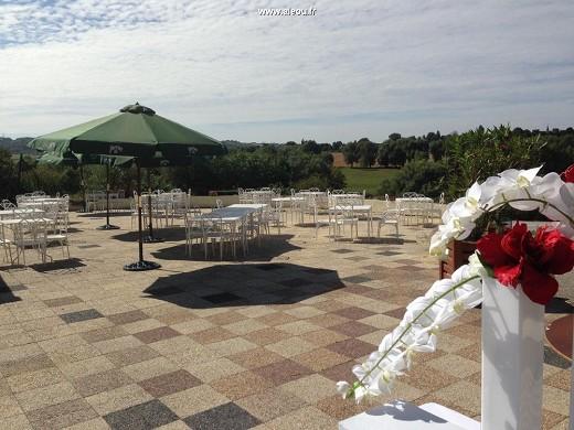 Pré marie de ons-en-bray - terrace