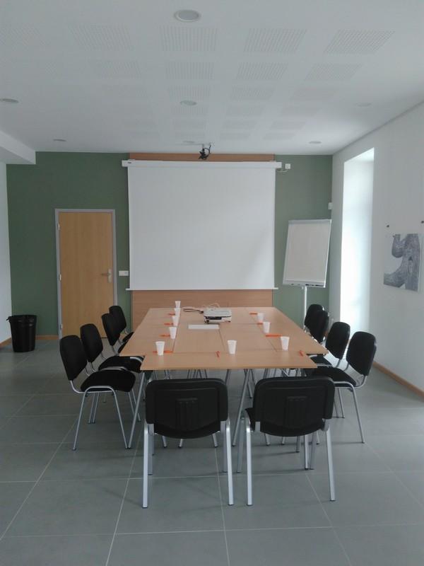 Il Berthet chiuso - sala riunioni