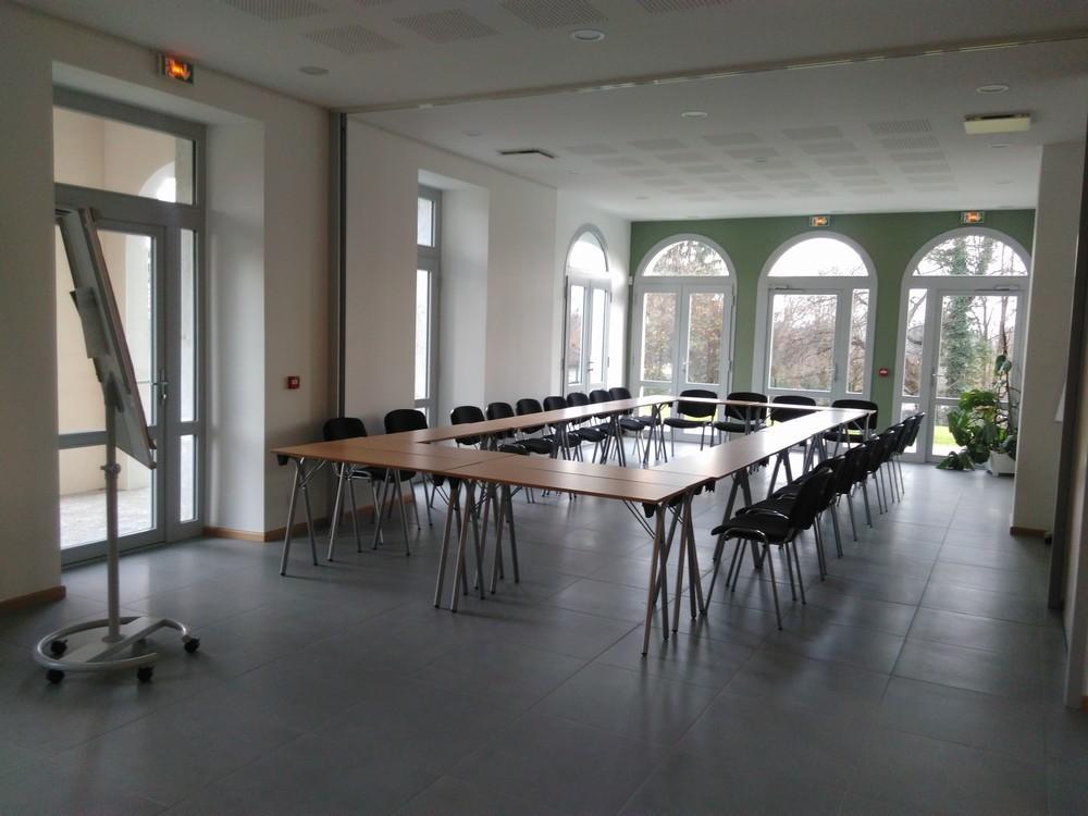 Il Berthet chiuso - sala per seminari