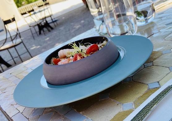 Château de la roque forcade - restaurante efímero