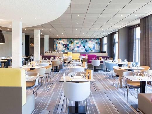 Novotel saint-quentin en yvelines: ristorante