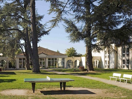 Mercure country house coudray park - jardín