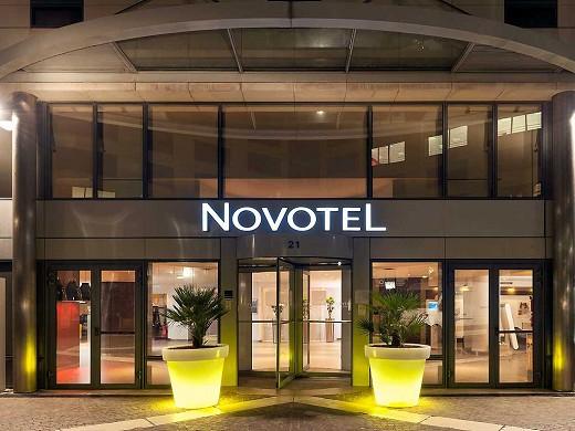 Novotel Paris rueil malmaison - outside the hotel