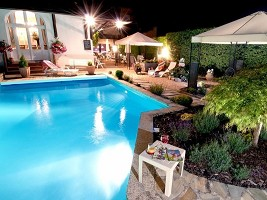 Hotel Restaurant Stéphane Nougier - Piscina