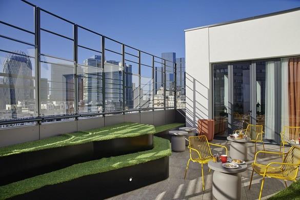 Mercure paris la defence - terrazza xii - tetto e cocktail