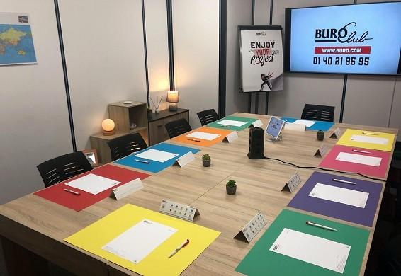 Buro club strasbourg-meinau - Tagungsraum mit Ausstattung