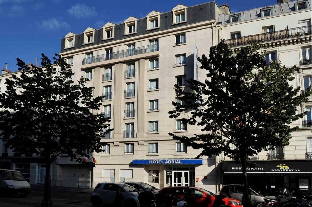 Hôtel abrial - façade