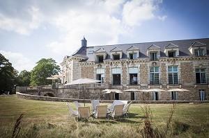 Château de Ronqueux - Yvelines Seminar Schloss