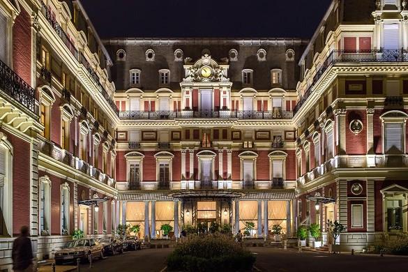 Hotel du palais resort e spa imperiale - facciata e cortile