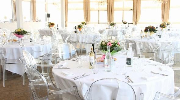 Hotel du Port - Panorama-Lounge für professionelle Mahlzeiten