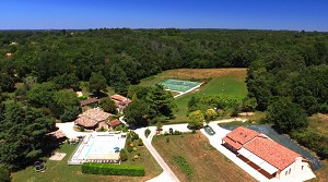 Domaine de Gavaudun - View from the sky