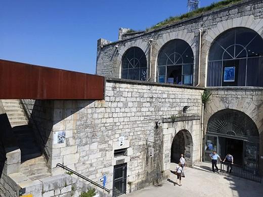 Fortezza della Bastiglia - facciata