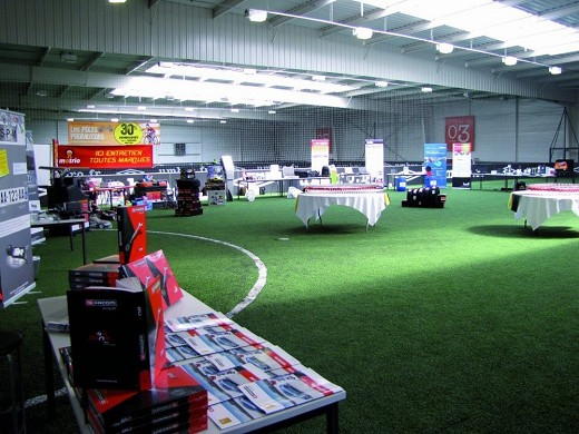 Urbansoccer puteaux - organization of events