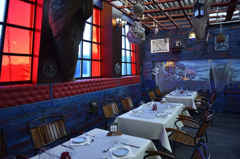 Hotel pirate cap - restaurant o pirata