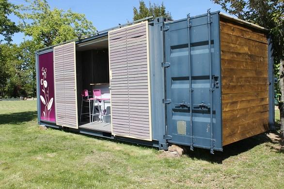 Domaine le 5b - unusual accommodation