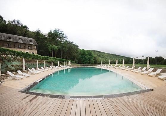 Chateau de la Fleunie - pool