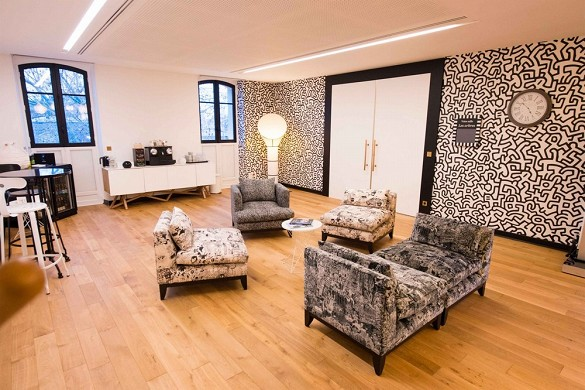 Châteauform 'city monceau rio - living room