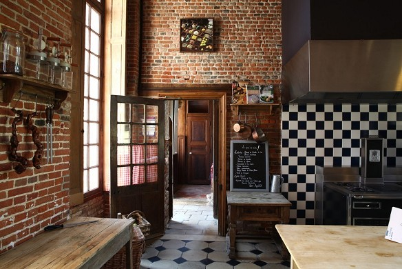 Castello di Rosay - cucina