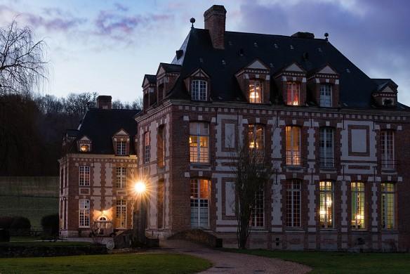 Château de Rosay - in serata