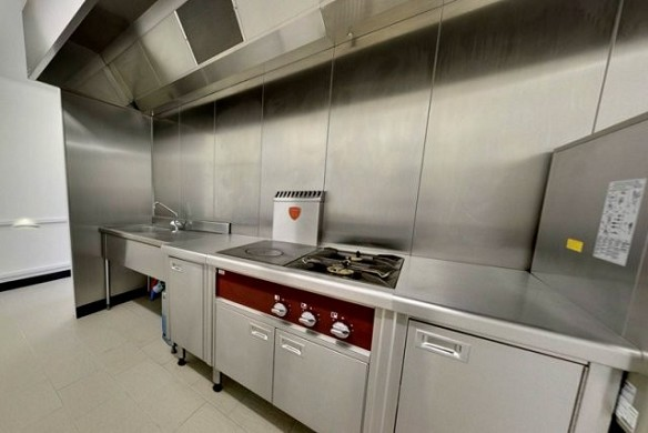 La ferme des 4 vents - professional kitchen