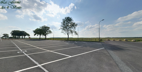 La ferme des 4 vents - parking lot 60 spaces