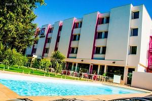 Die Stadt der Originale, Hotel Hotelio, Montpellier Sud - Außenansicht