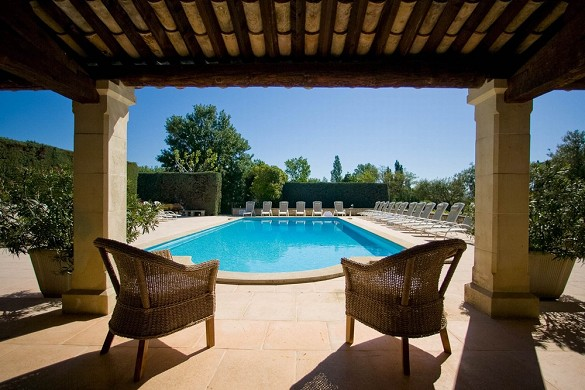 Auberge de carcarille - swimming pool