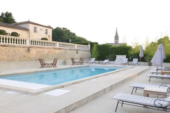 Château de lantic martillac - swimming pool