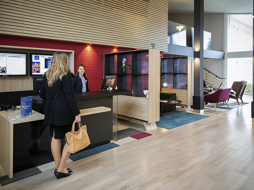 Novotel Lille airport - Reception