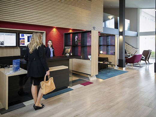 Novotel Lille airport - Reception