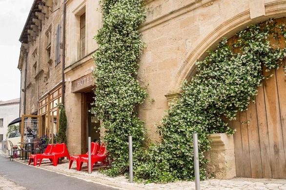 Hotel Acanthus hojas - exterior.