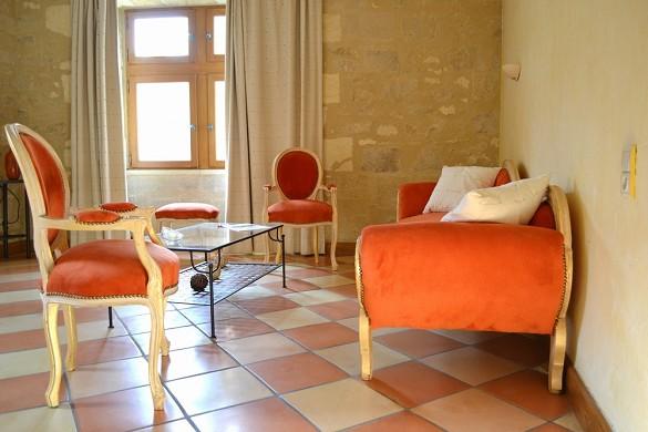 Hotel Acanthus deja - en el interior