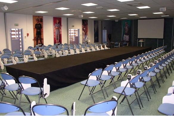 Centro de Seminarios de Golf Moliets - Sala de seminarios.