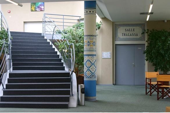 Centro de seminario de golf moliets - interior.